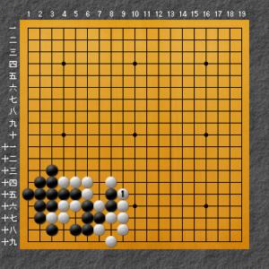 白の良い形を示した図