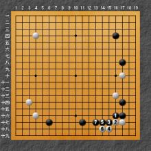 ミニ中国流の場合の図