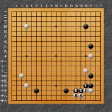 ミニミニ中国流の場合の図