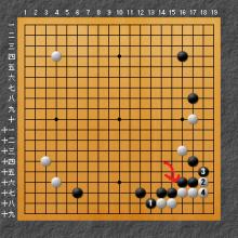 黒の弱点を示した図