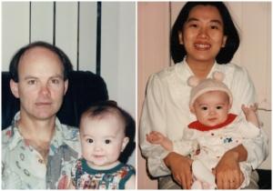 黒嘉嘉と両親
