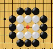 着手禁止点でも打てるという囲碁のルール説明