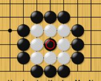 着手禁止点でも打てるという囲碁のルール説明の2