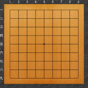 囲碁碁盤の説明9路盤
