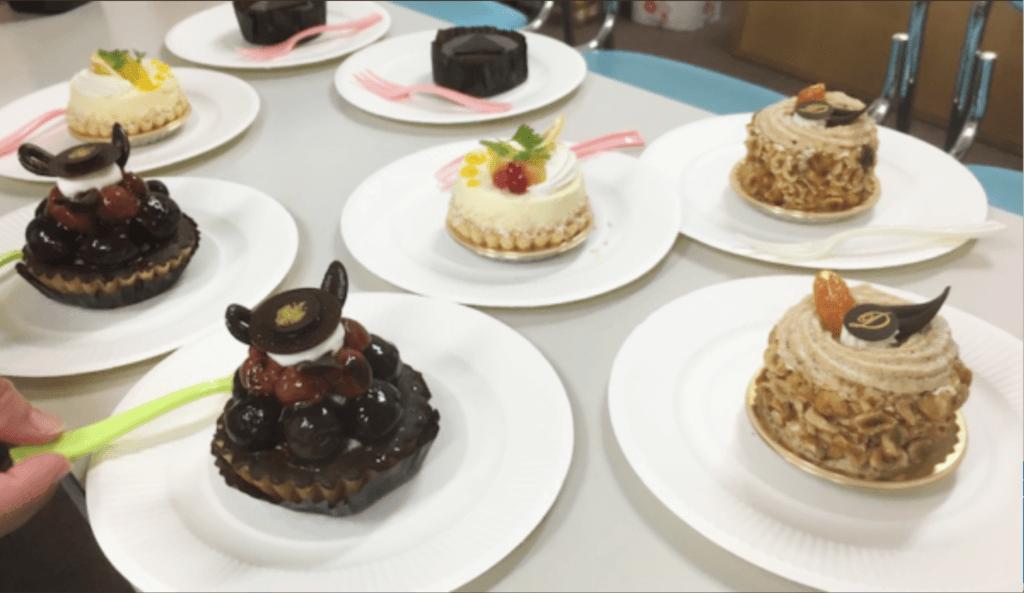 囲碁のイベントでのケーキ