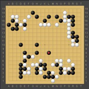 最年少プロ囲碁棋士仲村すみれ初段VSグロービスAQZ中盤の戦い