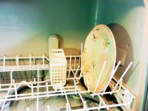 panasonic食洗機NP-TCR4にお皿を入れた-300x225